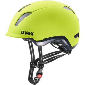 UVEX City 9 Casque, neon yellow